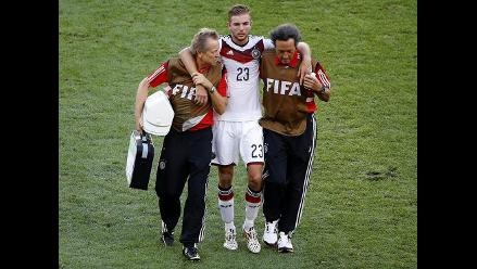Christoph Kramer y otros jugadores que perdieron consciencia en el Mundial