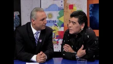 Stoichkov lloró con Maradona tras derrota argentina en la final del Mundial