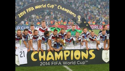 Final del Mundial fue vista por 26,5 millones de espectadores en EEUU