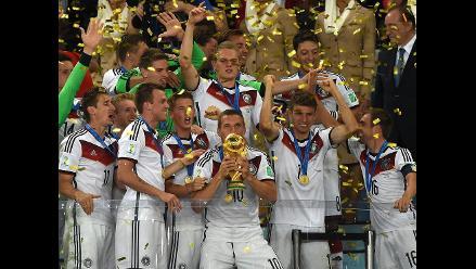 Alemania y su tetracampeonato de Brasil 2014 sin conocer de derrotas