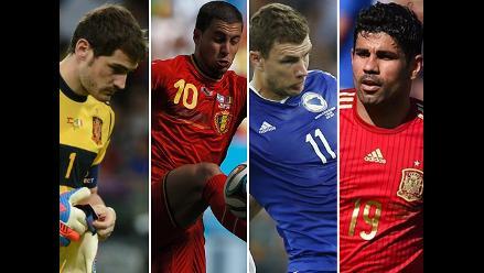 Conoce el once que decepcionó en el Mundial Brasil 2014