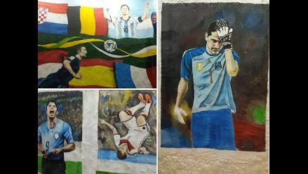 El Mundial Brasil 2014 quedó inmortalizado en alucinantes murales
