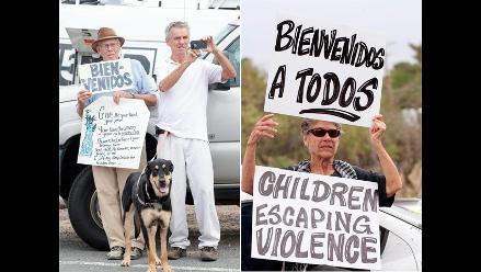 Protestas en Arizona contra la llegada de menores centroamericanos a EE.UU.