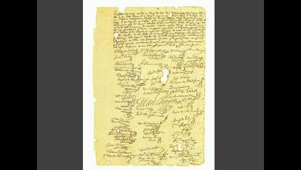 Acta original de la independencia se exhibirá en Biblioteca Municipal