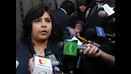 Ana Jara explica por qué Gana Perú no votó por Marisol Espinoza