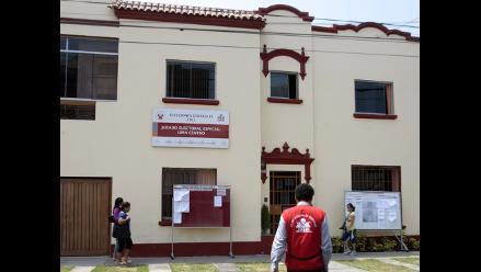 JEE de Lima Centro: 13 listas subsanaron observaciones a su inscripción
