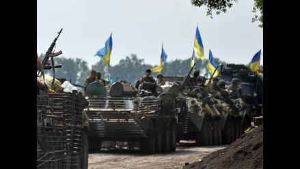 Once soldados ucranianos mueren en combates contra insurgentes prorrusos