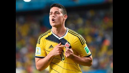 James Rodríguez el jugador que más se valorizó en el Mundial, según estudio