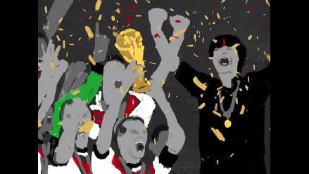 Brasil 2014 y sus momentos memorables caricaturizados en noventa segundos