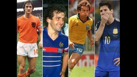 Lionel Messi y las grandes estrellas sin corona en los mundiales