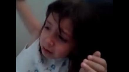 Niña llora porque Lio Messi recibió el Balón de Oro y no James Rodríguez
