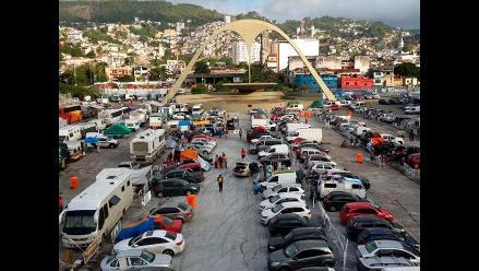 Desalojan a los últimos aficionados que acamparon en Río desde el Mundial