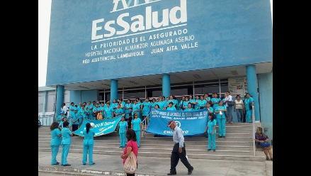 Ayacucho: trabajadores de EsSalud piden destitución de director