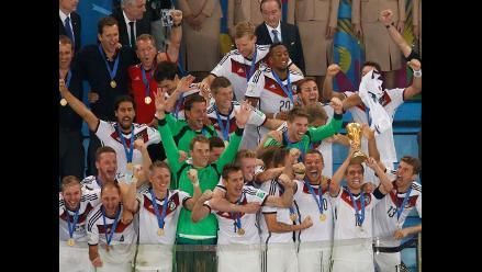 Alemania es el nuevo líder del ranking FIFA tras campeonar en Brasil 2014