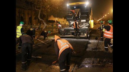 Municipio de Lima hace mantenimiento en puntos críticos de av. Brasil