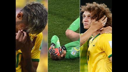 Recuerda a los jugadores que más lloraron durante el Mundial Brasil 2014