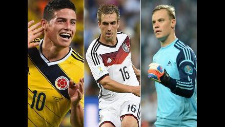 Conoce las estadísticas de los jugadores con mejores números del Mundial
