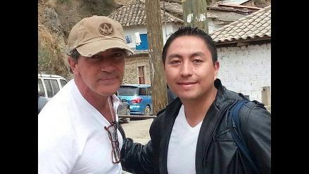 Antonio Banderas sorprende con visita al Cusco