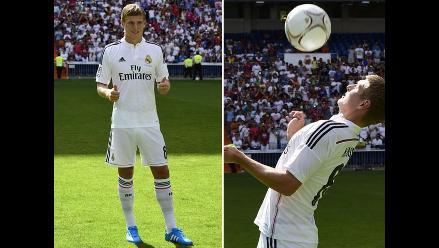 El alemán Toni Kroos, un nuevo