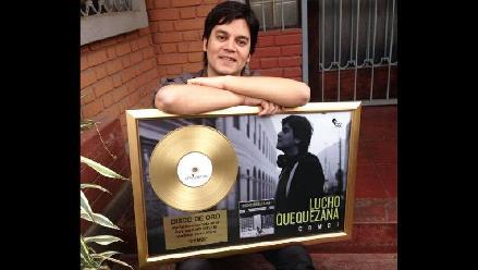 Lucho Quequezana recibió su segundo Disco de oro y se presenta en el GTN