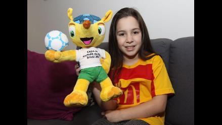 Conoce a Luana Camino, la niña peruana que fue parte de la final del Mundial