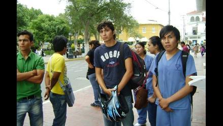 Trujillo: usan a universitarios para abrir cuentas de extorsión