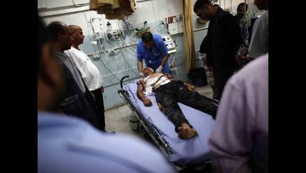 Mueren 18 palestinos y un soldado israelí al inicio de la incursión