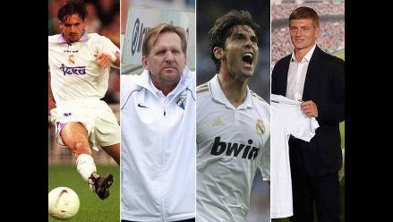 Toni Kroos y otros históricos jugadores que usaron la 8 de Real Madrid