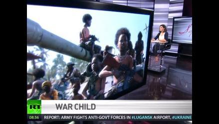 TV rusa usa imagen de videojuego en debate sobre niños de la guerra
