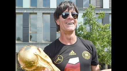 Löw revela que aún no vio por televisión el gol de Götze en la final