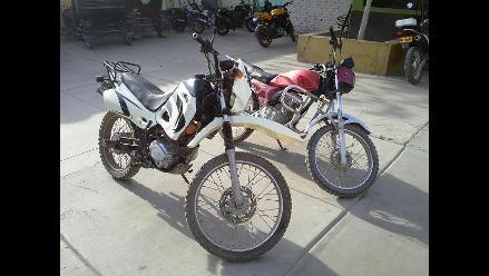 Lambayeque: PNP recupera motocicletas utilizadas para robos en Ferreñafe