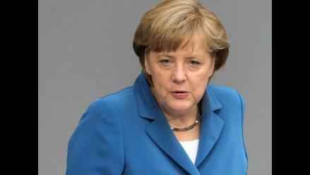 Angela Merkel respalda el derecho de Israel a defenderse