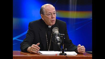 Cardenal Cipriani destaca compromiso de valores con otras iglesias de Perú