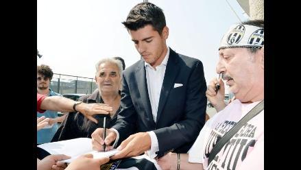 Juventus confirma fichaje del delantero Álvaro Morata, del Real Madrid