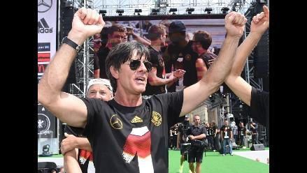 Federación de Alemania quiere contar con Joachim Low hasta la Eurocopa