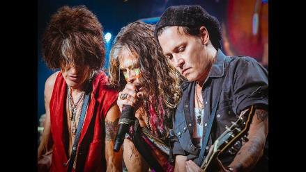 Johnny Depp vuelve a tocar junto Aerosmith