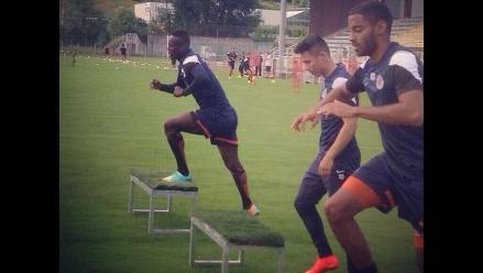 Jean Deza ausente en primer amistoso de la temporada del Montpellier