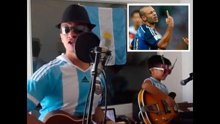 Argentinos dedican canción a Javier Mascherano y se convierte en hit