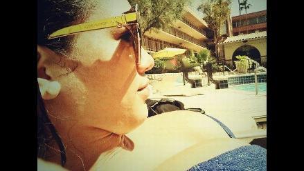 Jazmín Pinedo publica candentes fotos en bikini en su Twitter