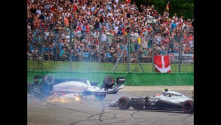 Tornello sobre accidente de Massa:  Es un circuito con un pista angosta