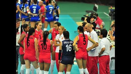 Selección de voleibol afina detalles para el Grand Prix en el Perú