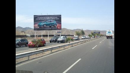 Huaral: se restablece el tránsito en la carretera Panamericana Norte
