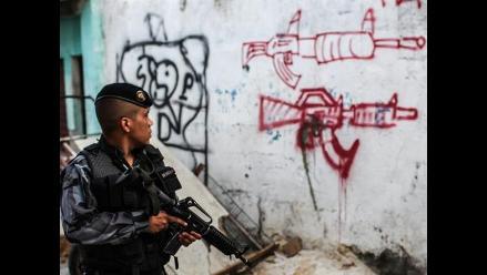 Refuerzan la seguridad en favelas de Río tras un fin de semana violento