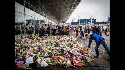 Holanda: duelo por las víctimas del vuelo MH17