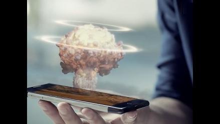 El 3D llega por primera vez a los celulares con tecnología holográfica