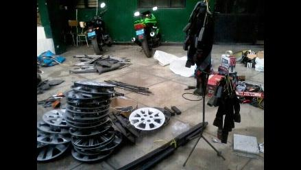 Trujillo: Incautan más de 200 autopartes presuntamente robados
