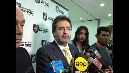 Arequipa: Juan Jiménez opina sobre cambio del Gabinete Ministerial
