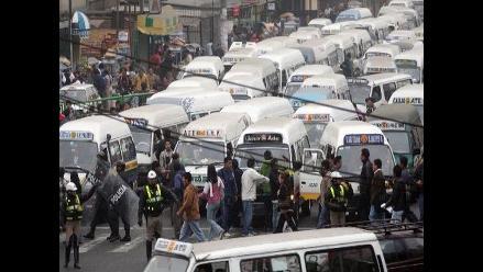 Transportistas del Callao paralizarán el 24 de julio contra nuevo corredor