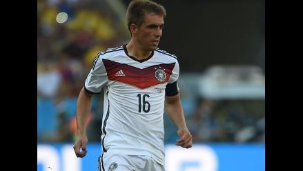 Philipp Lahm: Ya tenía decidido retirarme de la selección de Alemania