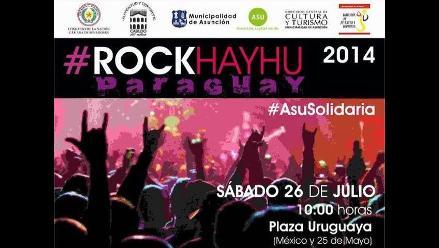 Paraguay: Realizan concierto de rock por damnificados por inundaciones